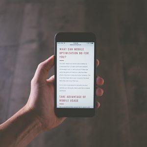 Оптимизируйте свои медиа для Интернета.